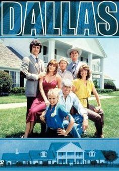 Victoria Principal, Barbara Bel Geddes, Patrick Duffy, Larry Hagman, Charlene Tilton, Jim Davis and Linda Gray in Dallas (1978)