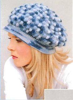 Knobby Hat free crochet pattern