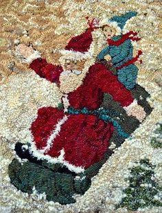 """Santa 18"""" x 24""""-"""