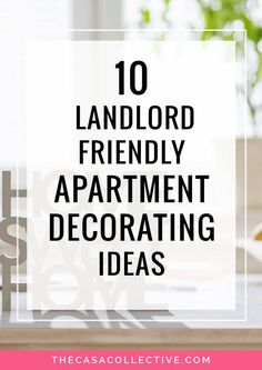 10 Landlord-Friendly Apartment Decorating Ideas Feel held back by your rental's decorating restrictions? Here's how you can decorate your rental space with landlord-friendly apartment decorating ideas. Boho Apartment, Diy Apartment Decor, Apartment Design, Apartment Ideas, Apartment Living, How To Decorate Apartment, Small Apartment Hacks, Living Room, Small Apartments
