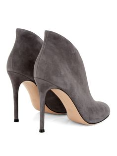 Vamp suede ankle boots | Gianvito Rossi