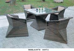 garden patio rattan table set www.facebook.com/pages/Foshan-Fantastic-Furniture-CoLtd                                                         www.ftc-furniture.com