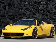 Ferrari 458 Italia Spider Novitec Rosso