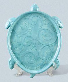 Another great find on #zulily! Ceramic Turtle Platter #zulilyfinds