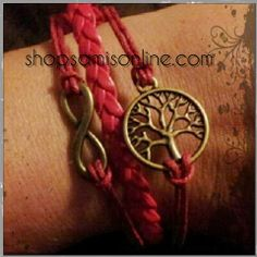 Tree of Life & Eternity infinity love loop by shopsamisonline, $11.00