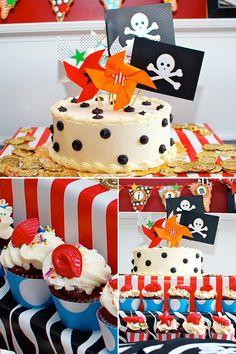 Un thème Pirate pour une belle fête d'anniversaire - Mon Bébé Chéri