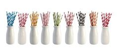 Bulk buy these Sweet colorful straws add perfect retro charm to baby showers, wedding receptions, engagements, candy buffets, birthday parties, and any special event! $59.95