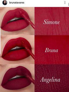 Makeup Brush Uses, Makeup Kit, Lip Makeup, Fall Lip Color, Lip Colour, Lipstick Shades, Lipstick Colors, Nail Paint Shades, Maquillage Kylie Jenner
