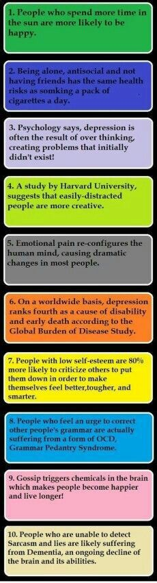 Psychology facts! I'll post more of these to (cool facts )