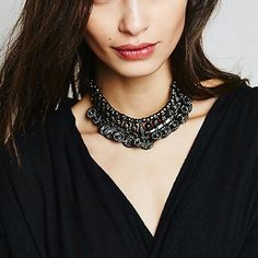 Free People Jewelry - SALE⚡️Host Pick! Free People Coin Choker Necklace