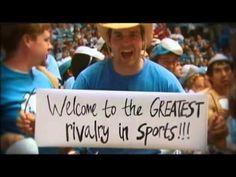 The Carolina-Duke Rivalry... Love it! GTHD!