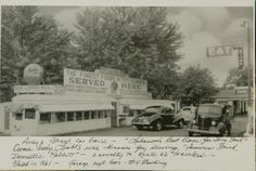 Andy's Street Car Grill, Lebanon, Missouri - my great aunt Nadine worked here in the 50s