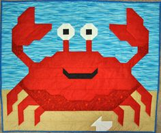 You can be a little crabby and still be awfully cute. :) Crab quilt PATTERN with multiple sizes by CountedQuilts on Etsy, $9.00