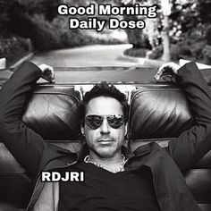 ✌️ Good Morning ✌️ ✌️ Buongiorno ✌️ #RobertDowneyJrDailyDose ✌️ Passate dal nostro gruppo : https://www.facebook.com/groups/907125109438778/ Instagram : https://www.instagram.com/robert.downey.jr.italy/ -Stark-
