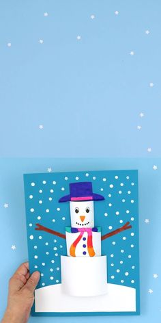 Cute Kids Crafts, Winter Crafts For Kids, Paper Crafts For Kids, Art For Kids, Winter Kids, 2nd Grade Crafts, January Art, Rolled Paper Art, Winter Art Projects