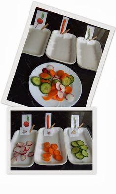 Játék a zöldségekkel