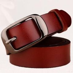 728fc8ce36e Women s fashion brand strap genuine leather women belt alloy pin buckles  vintage belts for womens jeans high quality 10