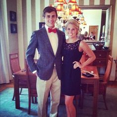 sweet southern couple <3 loveee her dress