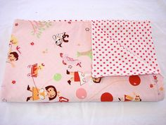 Baby Swaddling Blanket Polka Dot Day in the by ThreeFatBirdies, $20.00