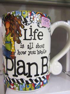 Plan B Mug £9.95