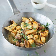 Pilzpfanne mit Tofu