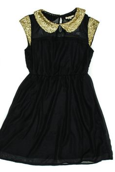 Sequin Peter Pan Dress by TUlle