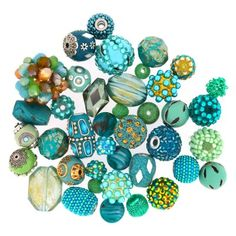We LOVE Colors and we LOVE Bead Specials!! The 40 pc. Unique Beads by Color Mix at JJB.com