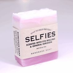 Soap for Selfies