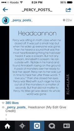 no  Credit to @_percy_posts_ on Instagram cuz this would never happen cuz annabeth can never die!!!!!!!