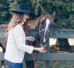 We don't horse around when it comes to fall sweaters | Women's Fashion #hunnistyle