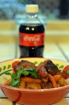 Coca-cola beef stew