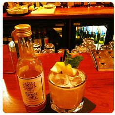 12 Days of Sweet Sally TeaCocktails � Day 1 Try the delicious 'Sally Southern Sour'! This is made locally in Hampstead at The Wells. Recipe is on the Sweet Sally Tea blog.
