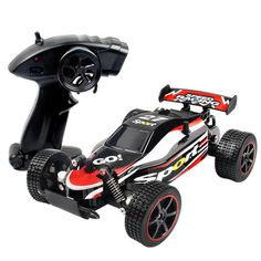 RC Car 23212 Buggy (Off-road) / Racing Car / High Speed Brush Electric 60 km/h Remote Control / RC / Rechargeable / Electric 2018 - £ Rc Drift, Rc Cars And Trucks, Toy Trucks, Lifted Trucks, Remote Control Cars, Radio Control, Carros Off Road, Carros Rc, Off Road Tires