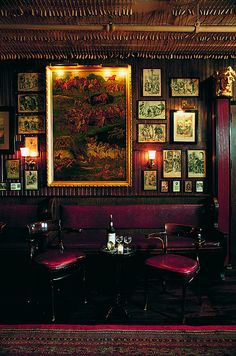 The Lincoln Room at Keen's Steakhouse