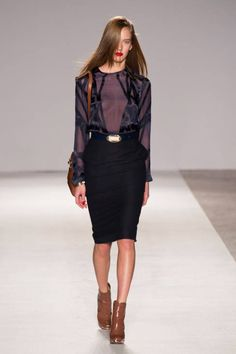 Aigner Fall 2014 Ready-to-Wear Runway - Aigner Ready-to-Wear Collection
