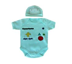 Levi - BMO Adventure Time Inspired Baby Costume Set by thehappywhiner