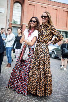 awesome Street style at Milan Fashion Week Spring 2017...