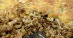 A beef macaroni and cheese like you've never tasted before.