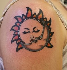7 Coolest sun tattoos | Body Art Diary