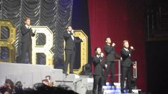 Collabro - Music Of The Night Birmingham Symphony Hall 29th March 2016