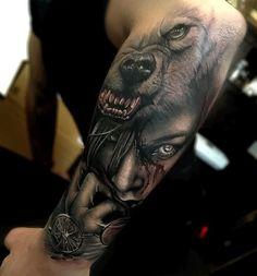 68 Ideas For Tattoo Fonts For Girls Ribs Tatoo Tattoo Girls, Girls With Sleeve Tattoos, Tattoo Designs For Girls, Arm Tattoos For Guys, Tattoos For Women Small, Trendy Tattoos, Mens Tattoos, Wolf Tattoos, Tattoos Arm Mann