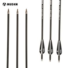 Buy 28/30 Inches Spine 500 Carbon Arrows Diameter 7.8mm for Recurve/Compound Bows Archery Hunting Shooting #28/30 #Inches #Spine #Carbon #Arrows #Diameter #7.8mm #Recurve/Compound #Bows #Archery #Hunting #Shooting