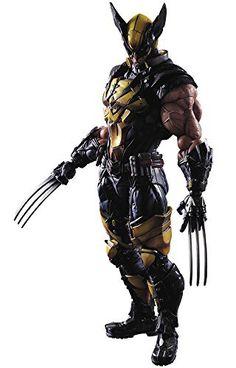 Square Enix Marvel Universe Variant Wolverine Play Arts Kai Action Figure $147.57