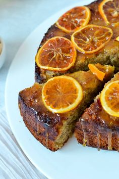 Orange Hazelnut Cake with Orange Sugar Syrup - A lovely afternoon tea served with a hot cuppa. Cake Recipes, Dessert Recipes, Desserts, Tea Recipes, Recipies, Tea Cakes, Cupcake Cakes, Cupcakes, Pastries