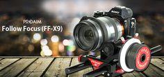 #NewLaunch #PROAIM #FollowFocus X9 Gear  Give your location shots the polished look of a high-budget production http://www.flycamdslr.com/hdvs/proaim-follow-focus-x9-gear.html