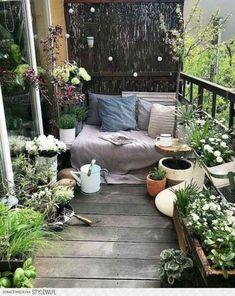 Small Balcony Design, Small Balcony Garden, Small Balcony Decor, Balcony Ideas, Balcony Decoration, Conservatory Ideas, Terrace Garden, Patio Ideas, Garden Plants