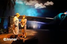 The Great Movie ride: did you know that Walt Disney imagineers ordered a real plane for this scene? Yep, but they only put the front half here. The back half can be found crashed on the jungle cruise in Disney's magic kingdom.