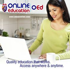 Upgrade your qualifications to achieve your best career yet! Enroll now at AMA Online University! Visit www.amauonline.com or e-mail customer@amauonline.com for more details.