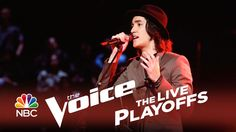 """The Voice 2014 Live Playoffs - Taylor John Williams: """"Stuck in the Middle"""": I know he might seem like a downer, but I LOVE the """"brooding"""" way he sings. He always sings like he's """"over"""" everybody, but his voice is a mix of swag and crispiness at the same time. I pretty much like everything he sings."""