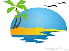 tropical beach clip art inspiration pinterest beach clipart rh pinterest com tropical beach clip art free